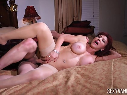 The best mature porn video is right in front of you with Sexy Vanessa