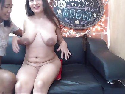 Adult Breastfeeding! MILF shares her Milk filled Breasts