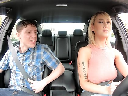 American taxi driver Maxim Law gives gets put out with one nerd passenger