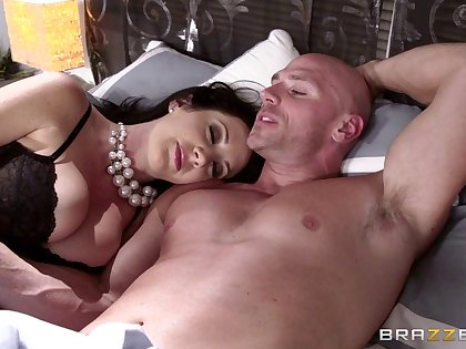 Romantic screwing after a long day being done with Jayden Jaymes