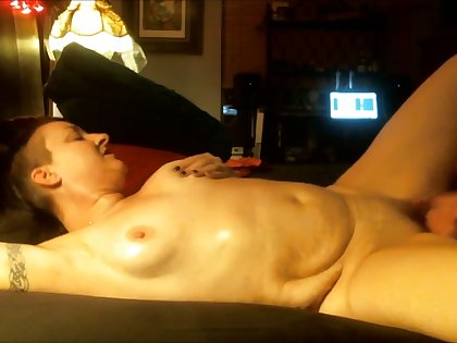 This slattern has a big behind and she loves a sensual happy realizing massage