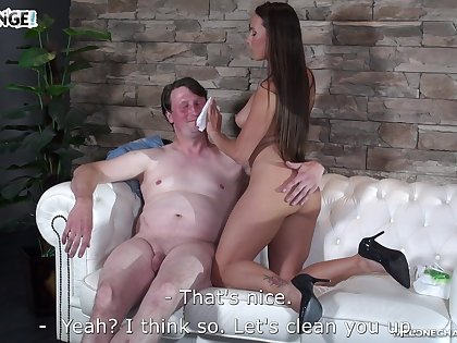 MILF pornstar Mea Melone wants to fuck but say no to fan doesn't look ready