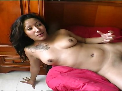 Latin-American depraved babe incredible sex clip