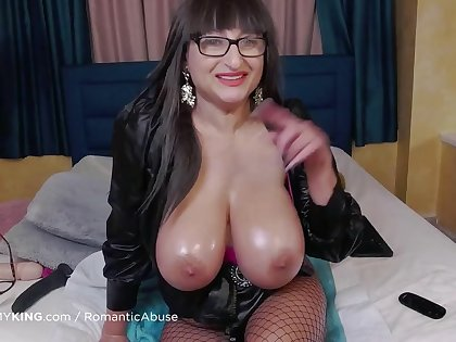 horny ugly mature in fishnets masturbating matchless surpassing webcam
