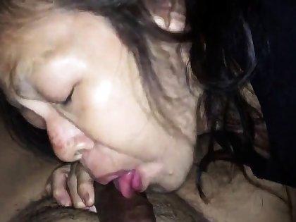 Chinese girl evening BJ