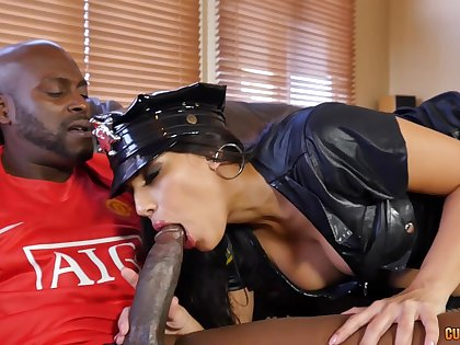 Blacked concerning her Latina cunt for a whole hour